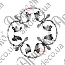 Rosette 370x370x12x6 beaten - picture