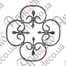 Розетка 375х375х12х6 - изображение