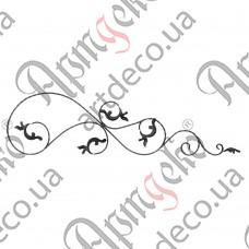 Розетка 380х1430х14х7 вальц. правый - изображение