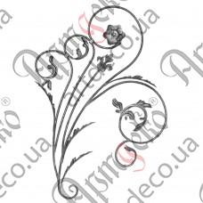Розетка 980х630х12 кора правый - изображение