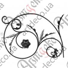 Розетка 550х750х12 кора левый - изображение