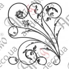 Розетка 880х760х12 кора левый - изображение