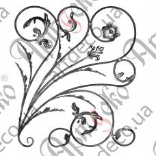 Розетка 880х760х12 кора правый - изображение