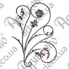 Розетка 880х610х12 кора правый - изображение