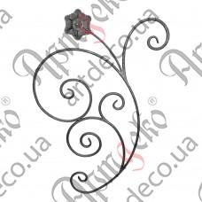 Розетка 850х610х12 кора - изображение