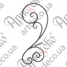 Розетка 840х360х12 кора - изображение