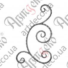 Розетка 605х360х12 вальц. - изображение