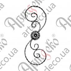 Розетка 605х220х12х6 вальц. - изображение