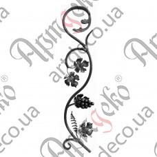 Розетка 830х165х14 лоза - изображение