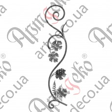 Розетка 830х165х12 лоза - изображение