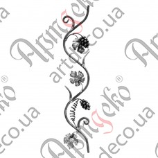 Розетка 830х150х12 лоза - изображение