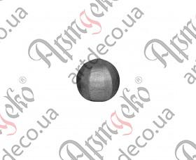 Шар кованый 15 - изображение