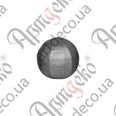 Textured sphere 25 - picture