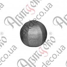 Textured sphere 30 - picture