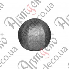 Textured sphere 40 - picture
