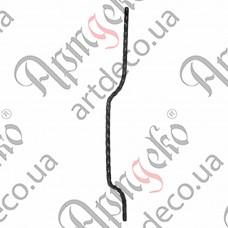 Стойка гнутая 800х12х95х12 невальц. - изображение