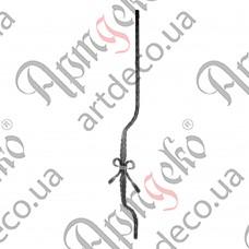 Стойка гнутая 950х175х90х12 вальц. - изображение