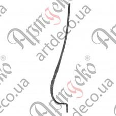 Стойка гнутая 950х30х210х12 вальц. - изображение