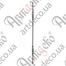 Стойка 950х28х12 кругляк - изображение