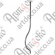 Стойка гнутая 950х12х135х12 вальц. - изображение