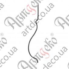 Стойка гнутая 950х12х210х12 невальц. - изображение