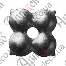 Цветок 45х1,5 отверстие 8 - изображение
