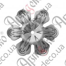 Цветок 95х2,5 отверстие 6 - изображение