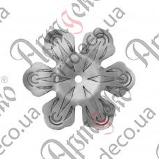 Цветок 120х2,5 отверстие 6 - изображение