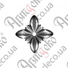 Цветок 80х1,2 отверстие 8 - изображение