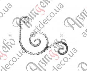 Декоративний элемент 290х365х12 вальц. - изображение
