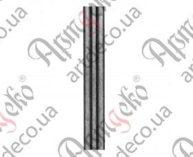 Кованая полоса обжимочная 2200x15x2 - изображение